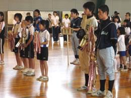児童球技大会・表彰式